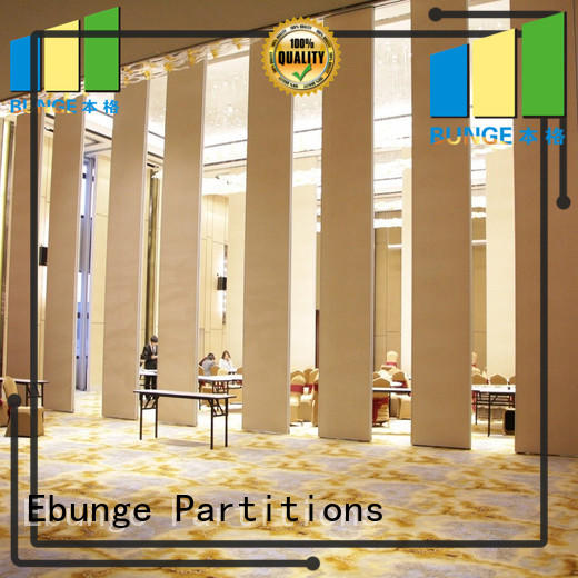 EBUNGE partitions and accessories customized for partition install