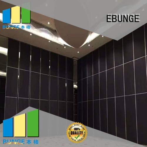 EBUNGE rolling partition wall supplier for conference hall