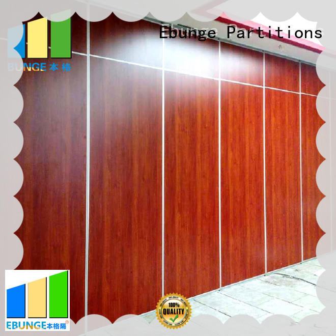 EBUNGE movable walls factory direct supply for restaurant