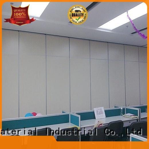 EBUNGE wooden movable walls manufacturer for conference room