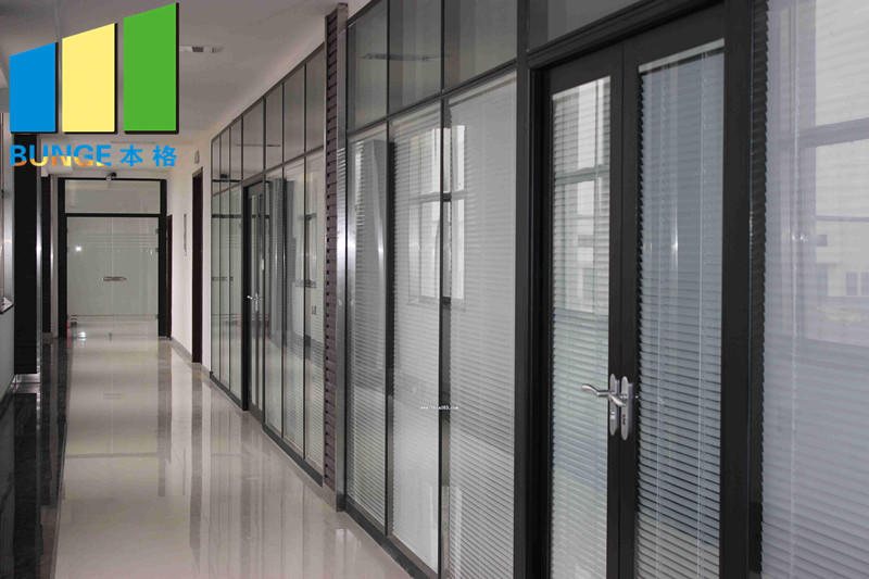 EBUNGE glazed office glass partition design wholesale for office-1