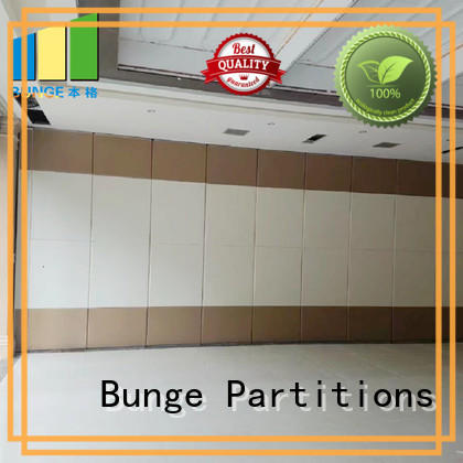 EBUNGE boardroom style movable partitions