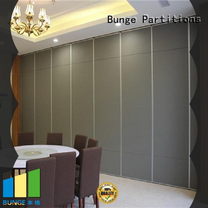 BUNGE room partition wall directly sale for shop