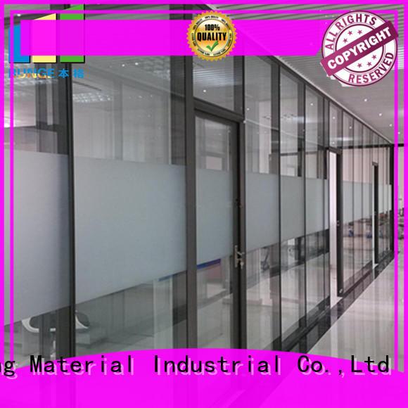 EBUNGE aluminum frame office glass partition design supplier for conference room