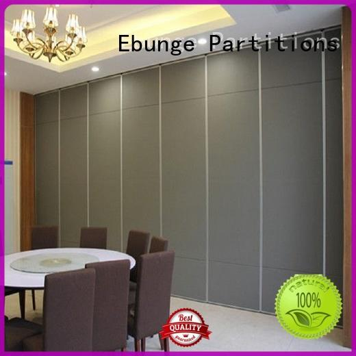 EBUNGE professional movable partition wall manufacturer for conference room