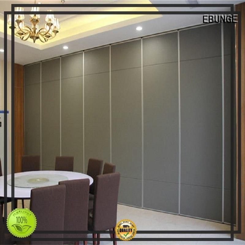 EBUNGE commercial room dividers factory direct supply for hotel