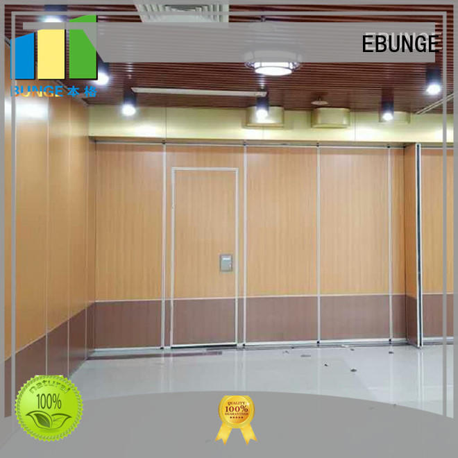 EBUNGE conference room dividers customized