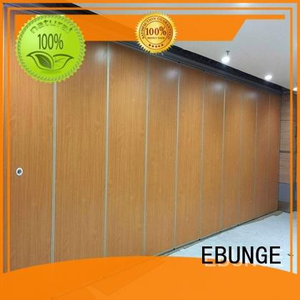 EBUNGE melamine surface operable wall manufacturer for office