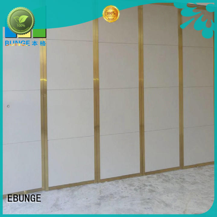 professional wooden partition with good price for banquet hall