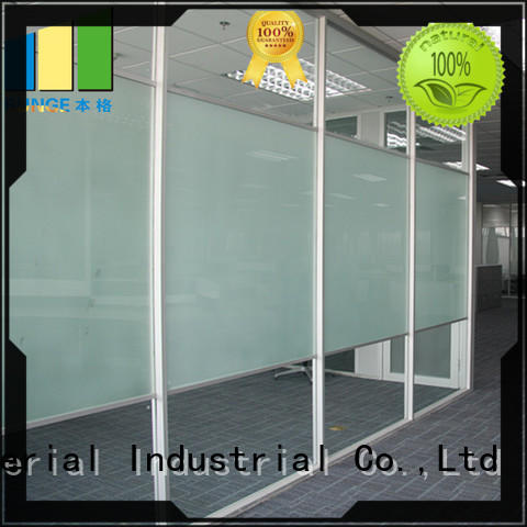 fixed single glass glass door divider series for banquet hall