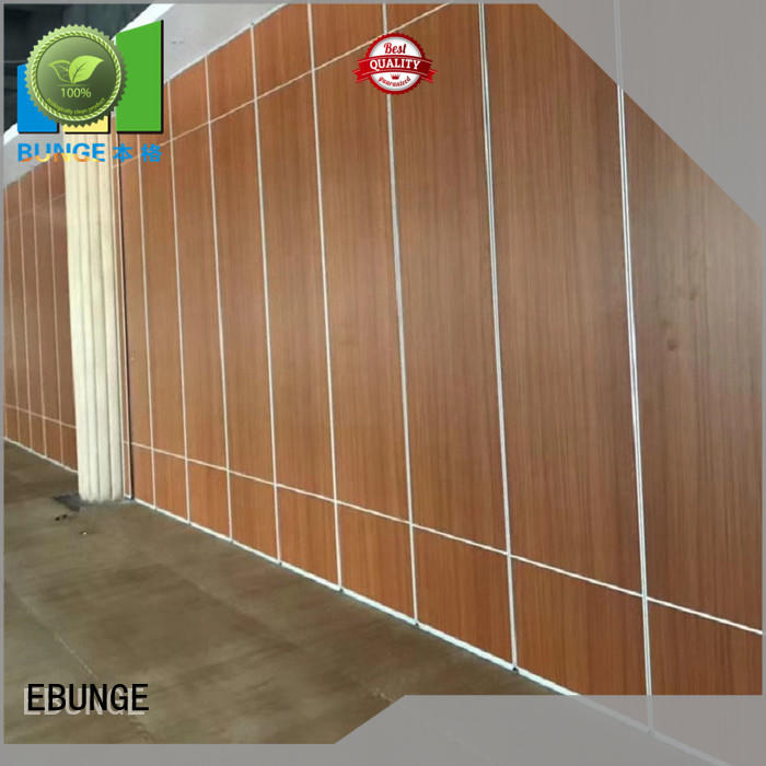 convenient wall partition with door directly sale for hotel