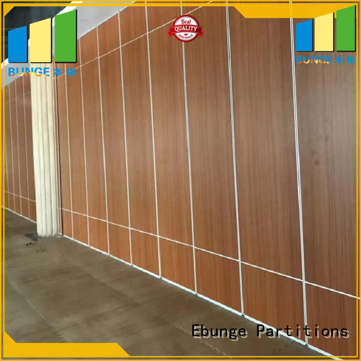 EBUNGE movable partition wall directly sale for hotel