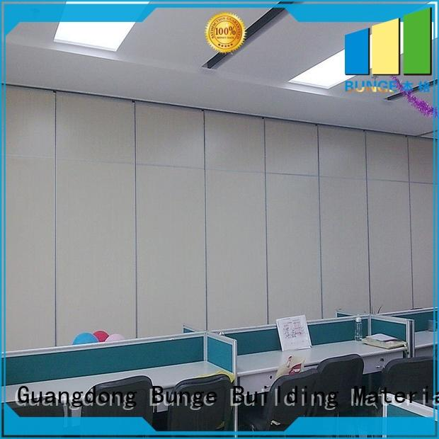 durable wall partition with door directly sale for hotel