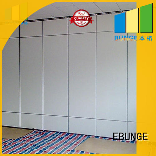 EBUNGE wall divider design manufacturer for restaurant