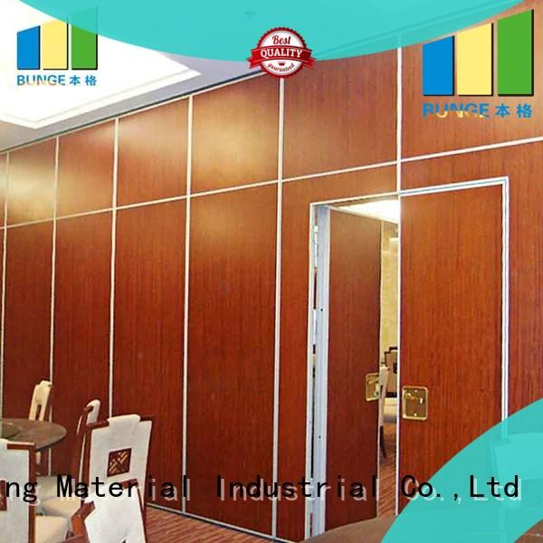 professional dividers folding partitions factory direct supply for meeting room EBUNGE