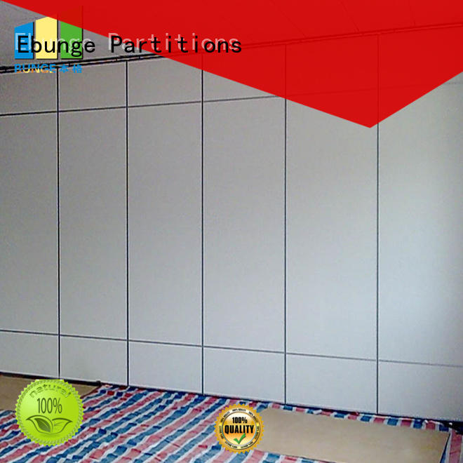 wooden temporary partition wall factory direct supply for office