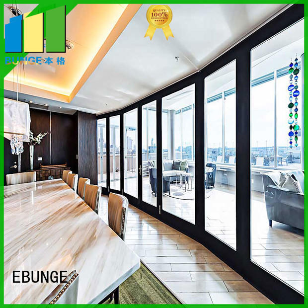 durable glass wall panels supplier for banquet hall