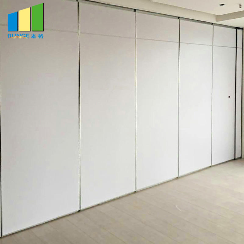 product-EBUNGE-Noiseproof Wooden Folding Movable Partition Walls for Office-img