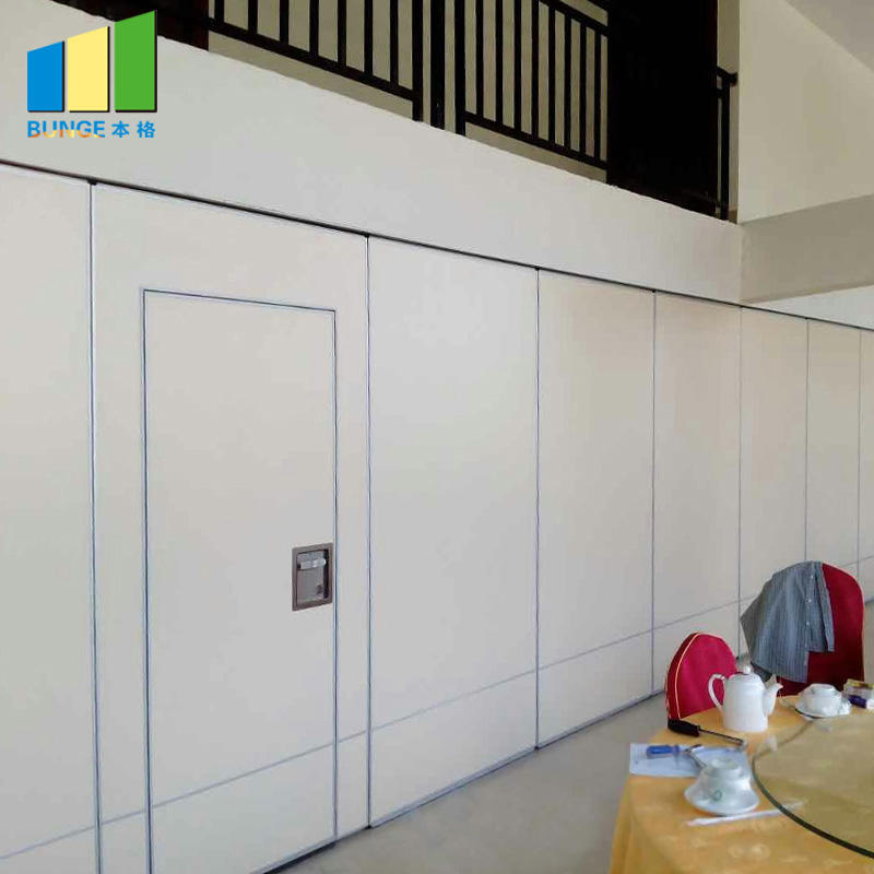 Noiseproof Wooden Folding Movable Partition Walls for Office