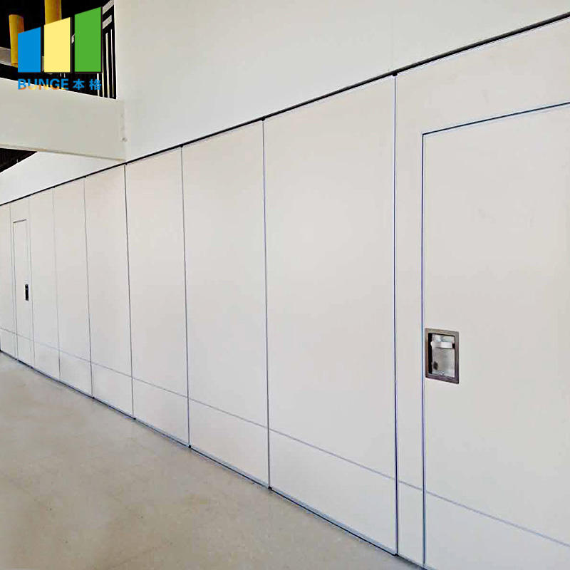 product-Noiseproof Wooden Folding Movable Partition Walls for Office-EBUNGE-img-1