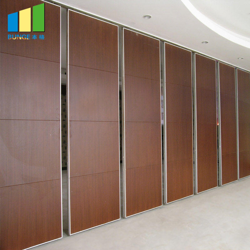 Aluminum Frame Retractable Operable Sliding Partition Walls