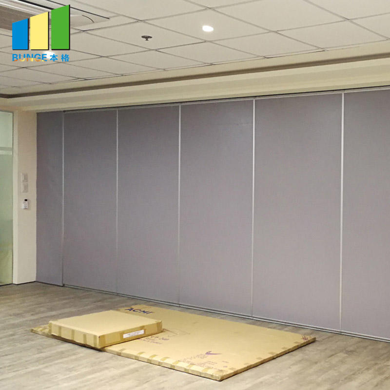 Hanging System Decorative Acoustic Operable Partition Walls