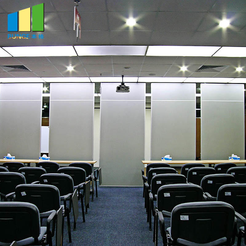product-Decorative Wooden Sound Proof Operable Partition Walls for Meeting Room-EBUNGE-img-1