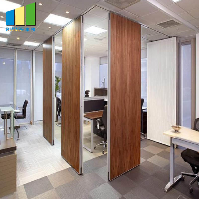 product-EBUNGE-Decorative Wooden Sound Proof Operable Partition Walls for Meeting Room-img