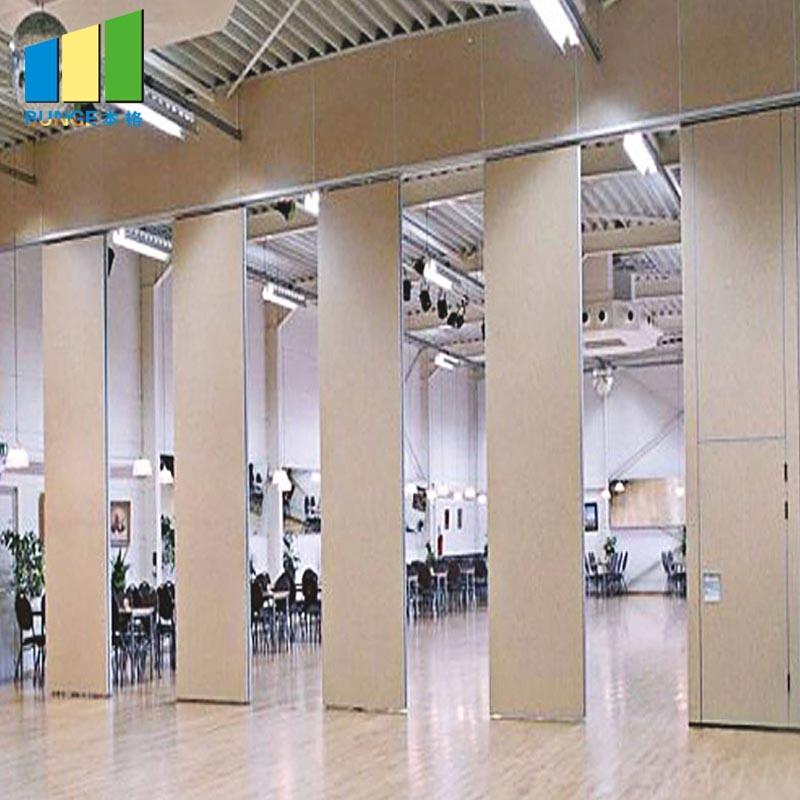 Bunge-Room Divider Wall | Aluminum Frame Decorative Modern Folding Sliding Office-1