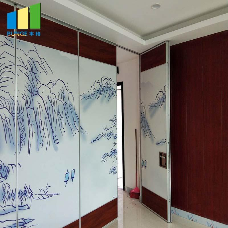 product-EBUNGE-85 mm Type Movable Sound Proof Partition Walls for Banquet Hall-img