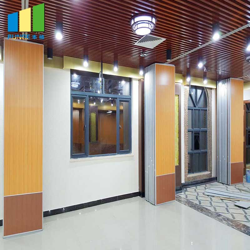 Bunge-Professional Folding Room Partitions Folding Wall Panels Supplier