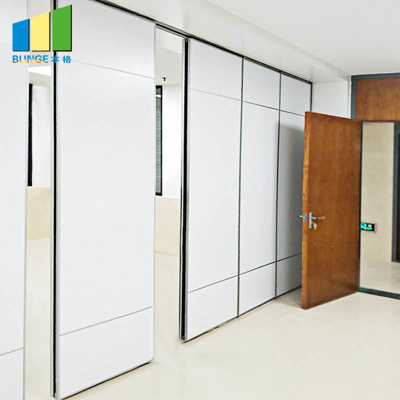 Wooden Acoustic Operable Walls Conference Room Partitions-movable wall- folding partition-operalbe wall-EBUNGE