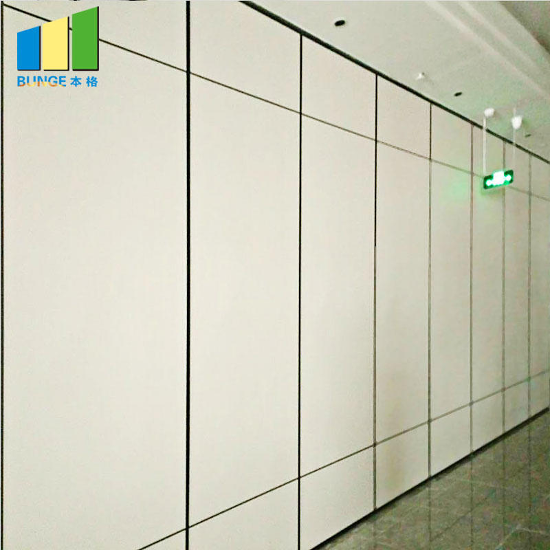Wooden Acoustic Operable Walls Conference Room Partitions-EBUNGE