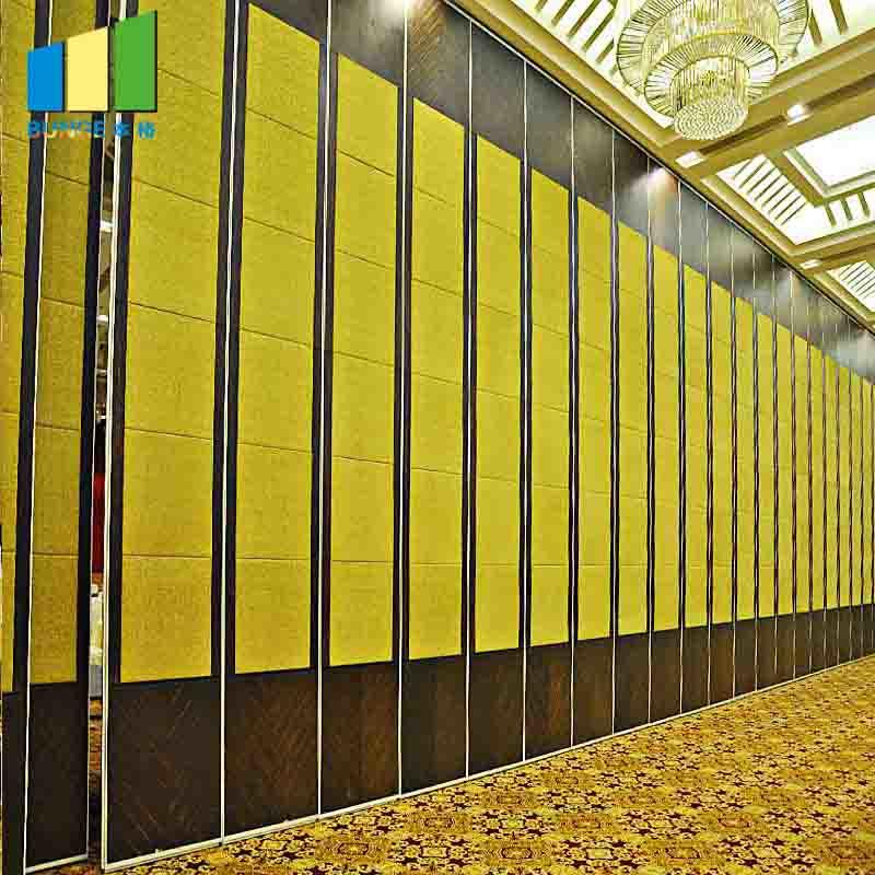 Multi-Purpose Hall Decorative Acoustic Operable Partition Walls