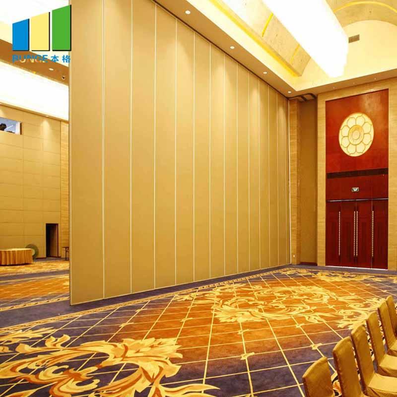 Ballroom Acoustic Movable Walls Sliding Folding Wall Partitions