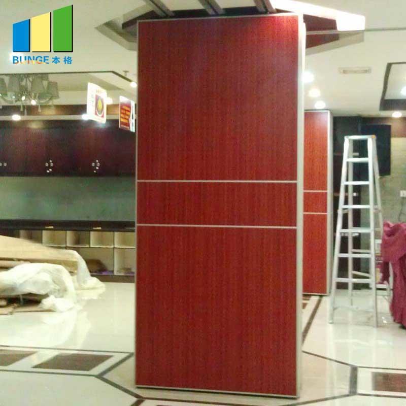 Sound Proof Moveable Doors/Acoustic Sliding Folding Partitions