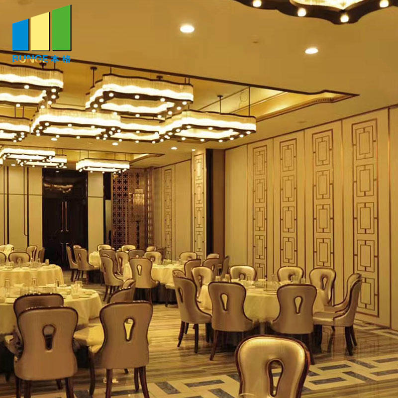 Customized Melamine Finish Acoustic Operable Folding Sliding Partition Walls
