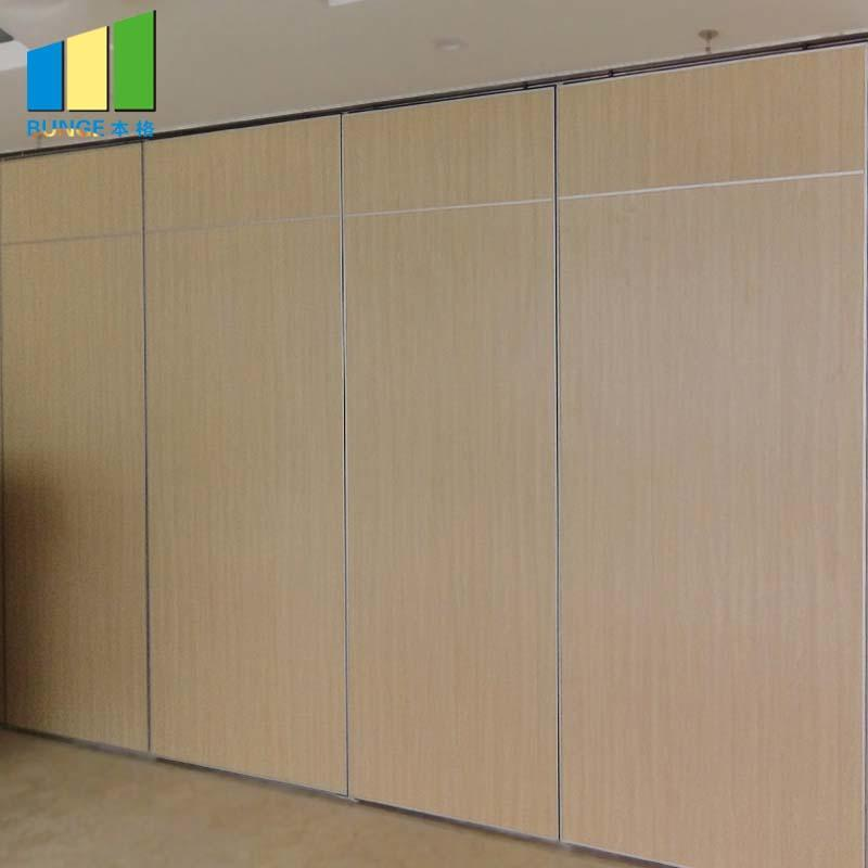 Durable Lightweight Flexible Movable Sliding Partition Walls For Restaurant