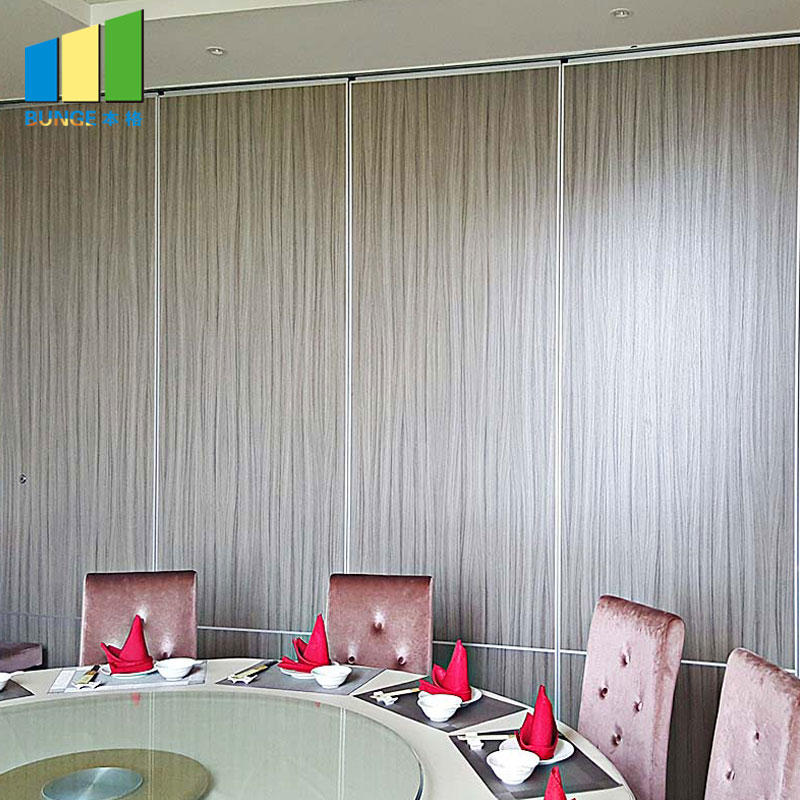 product-EBUNGE-Hotel Moveable Partitions Acoustic Wooden Hanging Folding Partition Walls-img
