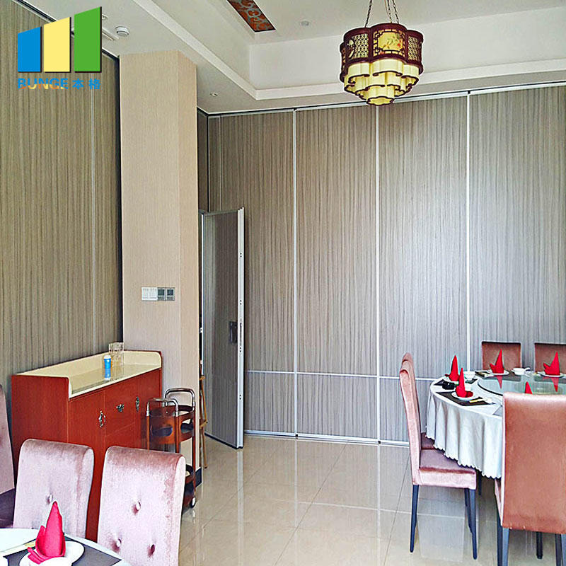 product-Hotel Moveable Partitions Acoustic Wooden Hanging Folding Partition Walls-EBUNGE-img-1