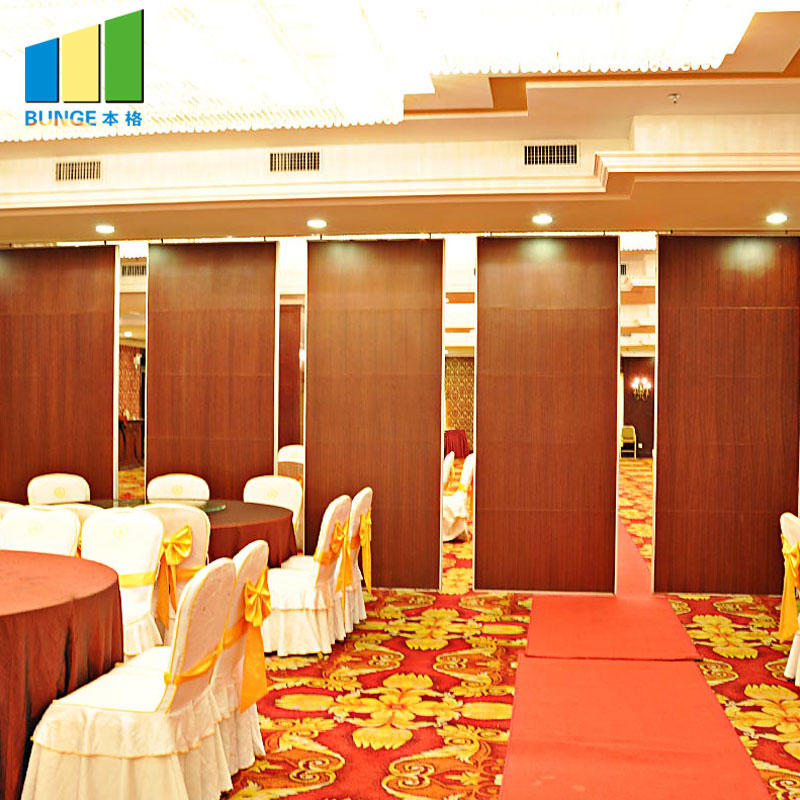 Banquet Hall Removable Sound Proofing Sliding Wall Partitions System