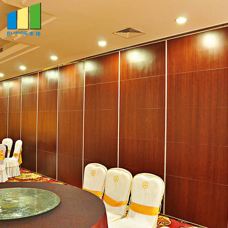 Banquet Hall Removable Sound Proofing Sliding Wall Partitions System-EBUNGE