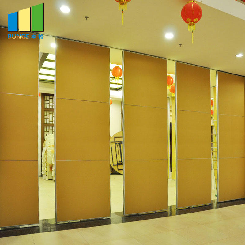 product-Sound Proof Sliding Operable Retractable Wall Partitions for Banquet Hall-EBUNGE-img-1