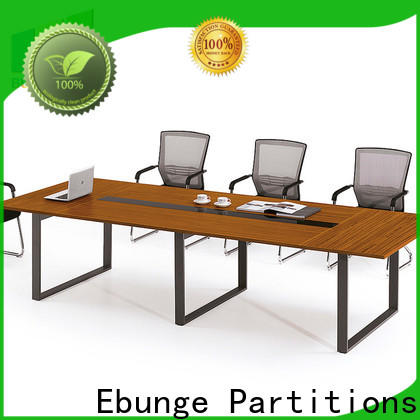 melamine office computer table supplier for office