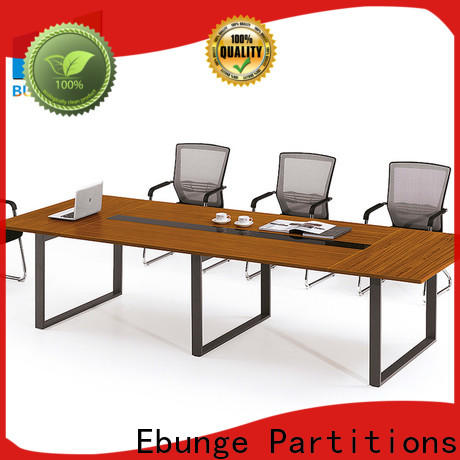EBUNGE metal structure conference table factory for work