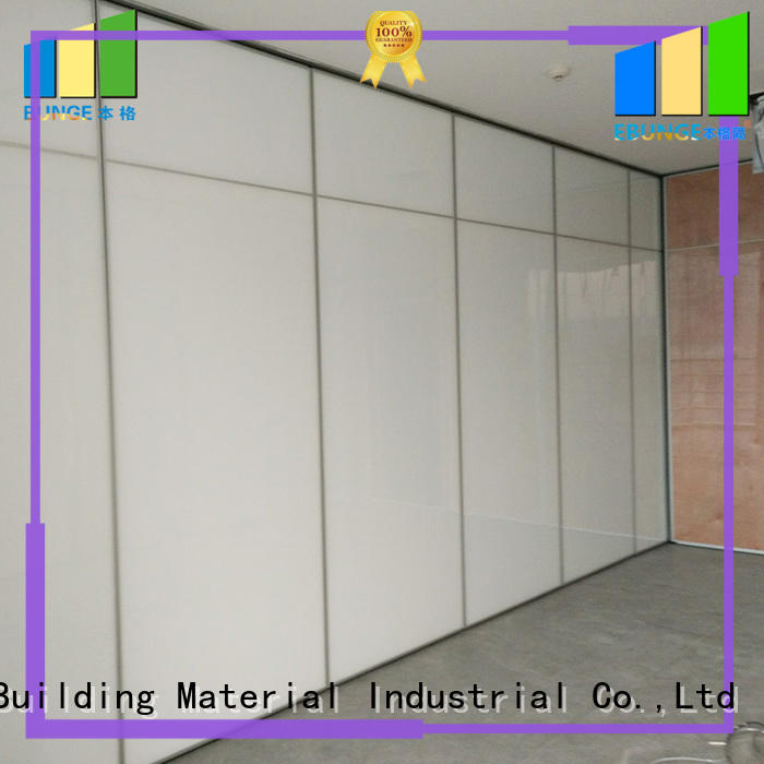 EBUNGE folding partition walls commercial supplier for office