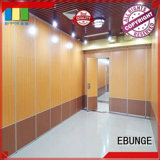 EBUNGE rolling partition wall wholesale for conference hall