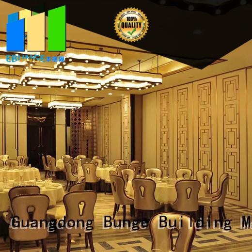 EBUNGE aluminum frame movable divider walls wholesale for banquet halls