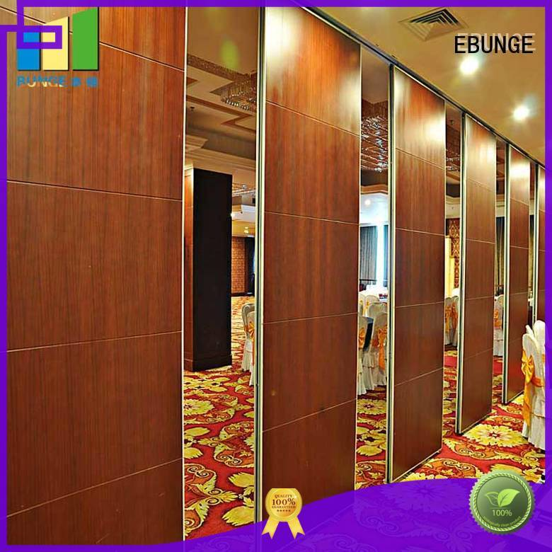 EBUNGE practical wall divider design directly sale for auditorium
