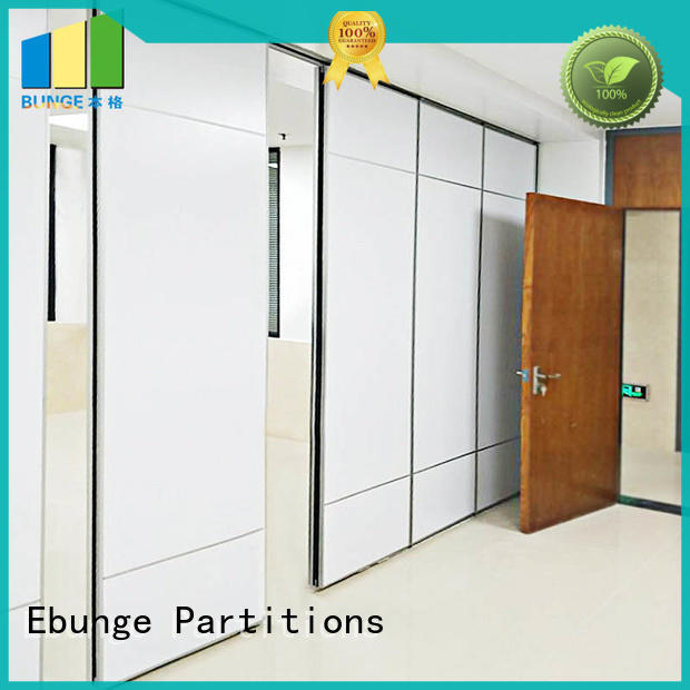 EBUNGE MDF rolling partition wall series for schools